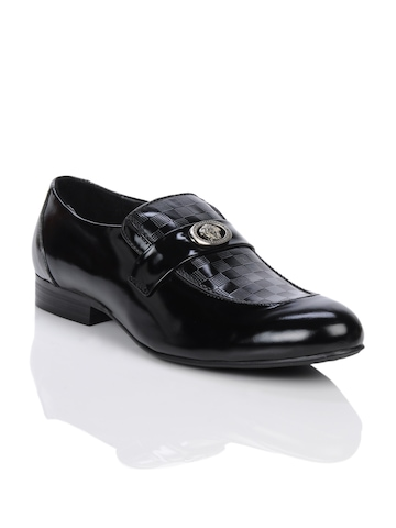 Homme Men Black Formal Shoes