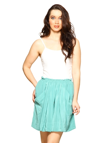 Forever New Women Blue Skirt