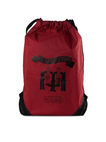Nike Unisex Nylon Red Backpack