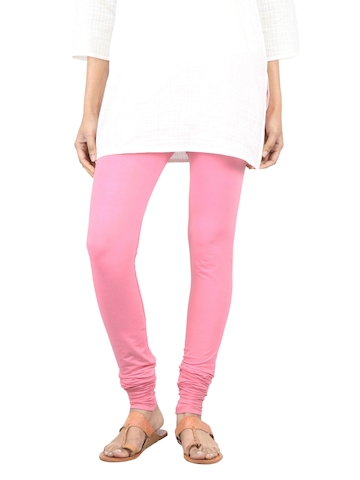 Myntra Women Pink Leggings
