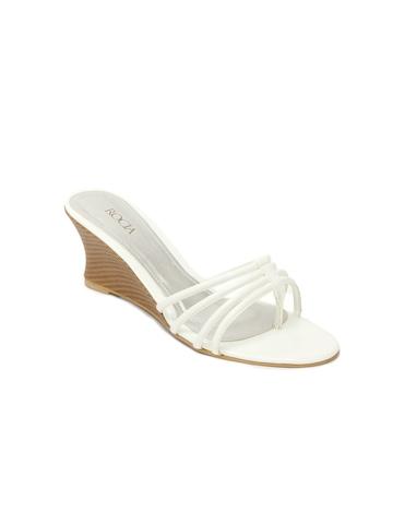 Rocia Women White Wedges