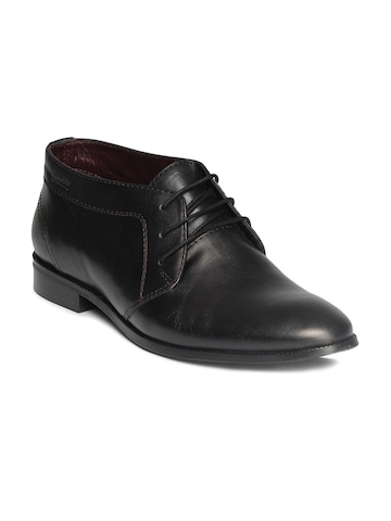 Arrow Men Black Formal Shoes