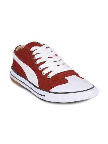 Puma Unisex Lo Maroon Shoes