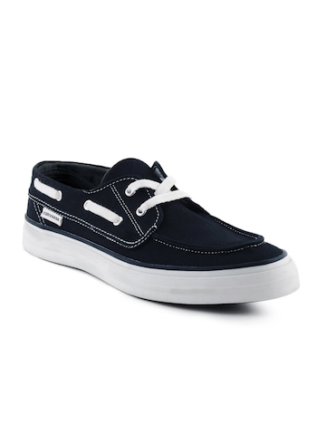 Converse Men Navy Blue Boat Shoes