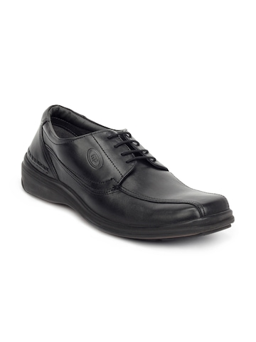 Hush Puppies Men Black Bounce IV Formal Shoes