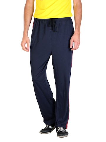 2go Active Gear USA Men Navy Blue Agassi Track Pants