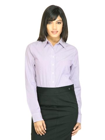 Arrow Woman Tyra Purple Shirt
