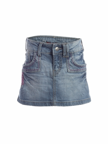 Gini and Jony Girls Washed Blue Skirt