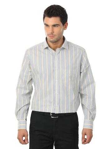 Indigo Nation Men Grey Shirt