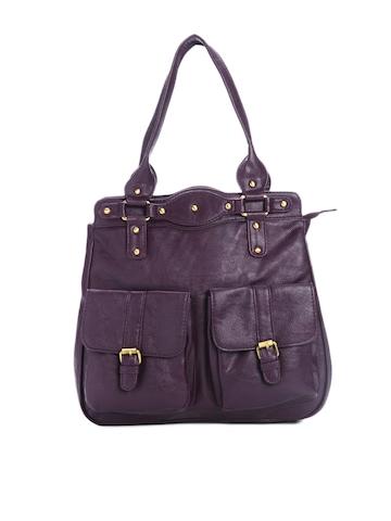 Peperone Women Purple Handbag