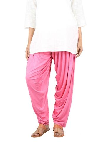 Myntra Women Pink Patiala Salwar