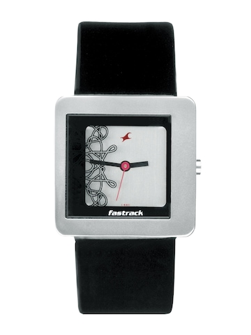 Fastrack Women Silver Dial Casual Watch