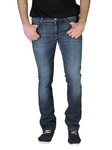Wrangler Men Blue Skanders Jeans