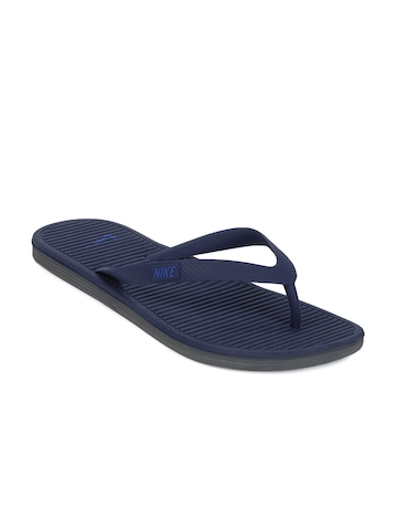 Nike Men Blue Flip Flops