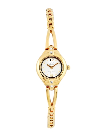 Q&Q Women Silver Dial Analog Watch