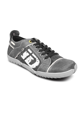 iD Men's Graphic Black Shoe