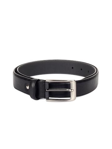 Peter England Men Black Belt