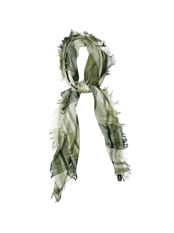 Allen Solly Woman Check Olive Scarf