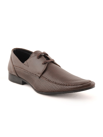 Franco Leone Men Formal Brown Formal Shoes