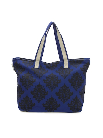 Be For Bag Women Blue Tote Bag