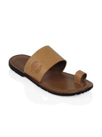 U.S. Polo Assn. Men Brown Sandals