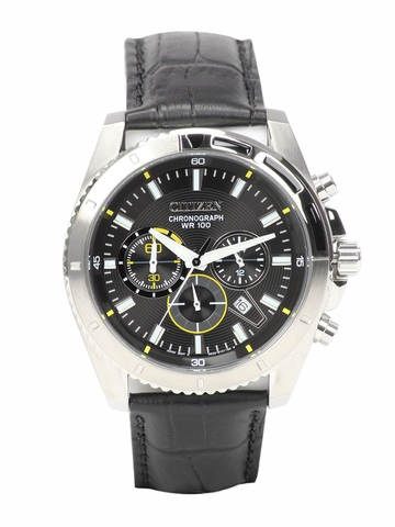 Citizen Men Black Dial Chronograph Watch