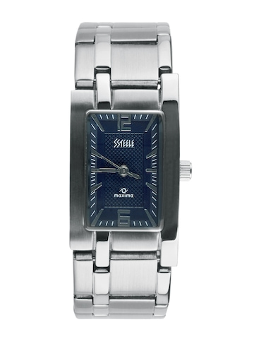 Maxima Ssteele Women Blue Watch