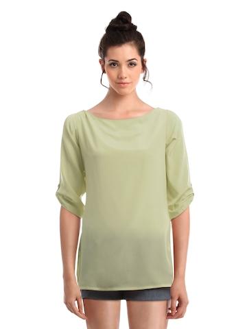 Femella Women Green Top