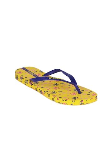 iPanema Women Yellow Flip Flops