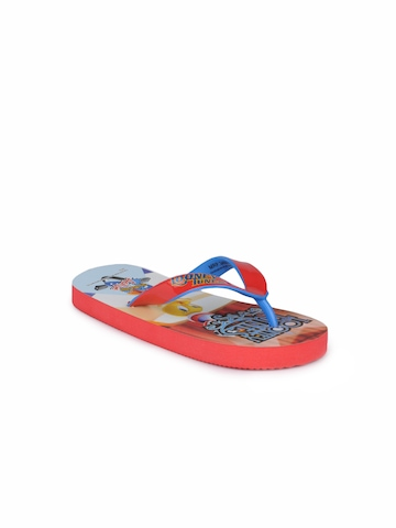 Warner Bros Kids Unisex Red Flip Flops