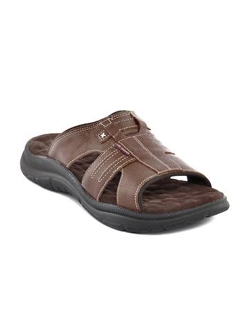 Lee Cooper Men  Brown Sandal