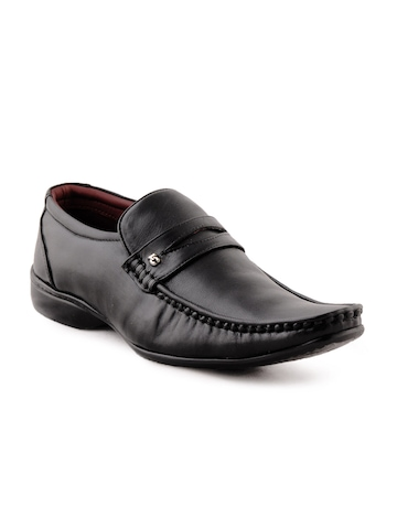Lee Cooper Men Formal Black Shoes