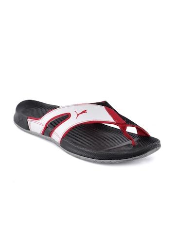 Puma Men Jiff Black Flip Flops