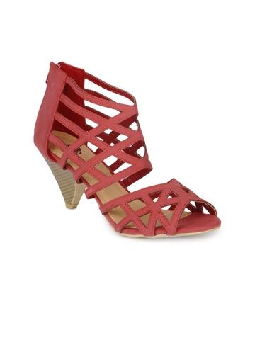 Cobblerz Women Red Sandals