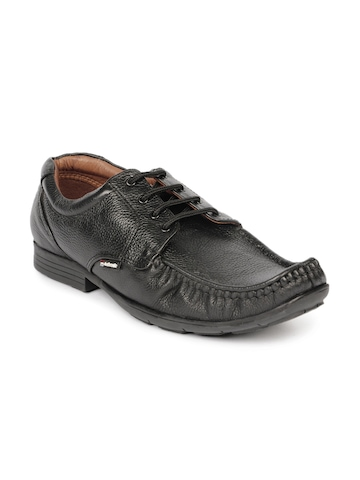 Red Chief Men Black Formal Shoes