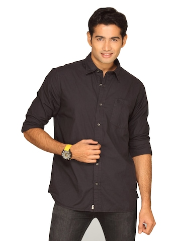 Timberland Men Claremont Popl Black Shirt