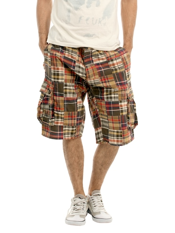 French Connection Men Multi Coloured Cargo Shorts