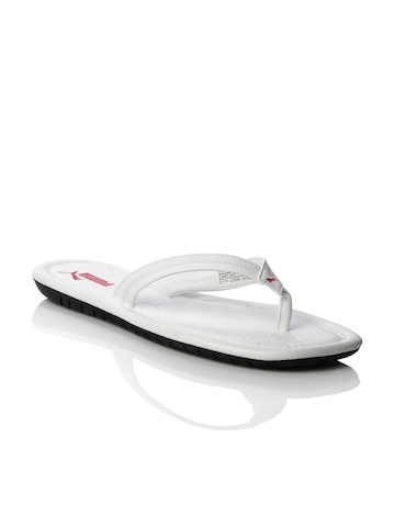 Puma Men Drifter Road White Flip Flops