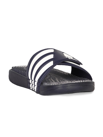 Adidas Men New Navy Clear White Sandal