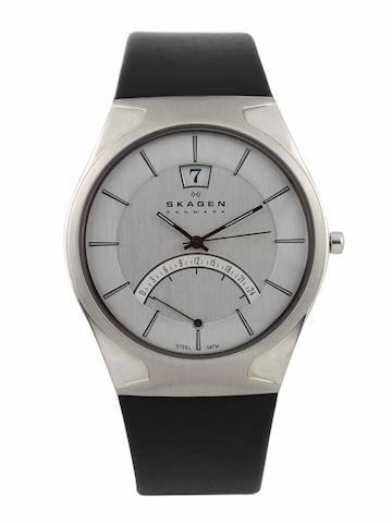 SKAGEN DENMARK Men Grey Dial Watch 668XLSLZM