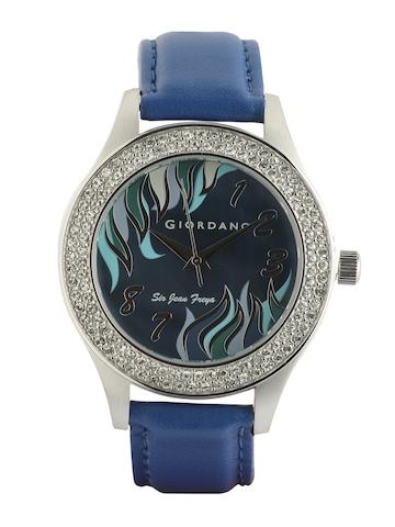Giordano Women Blue Dial Watch