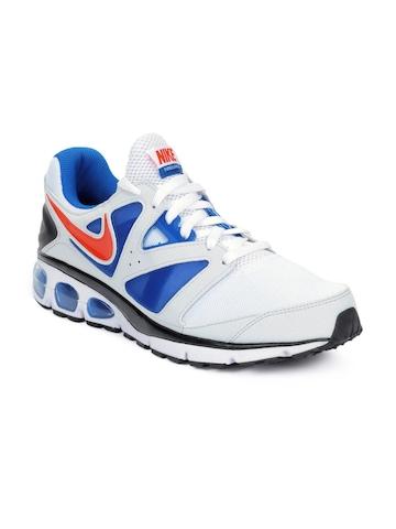 Nike Men Air Max Turbulence+ 18 White Sports Shoes