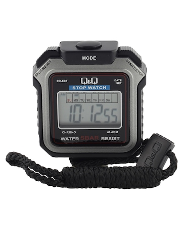 Q&Q Unisex Black Digital Stop Watch