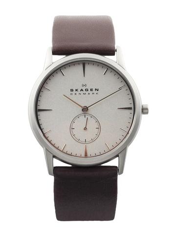 SKAGEN DENMARK Men Silver-Toned Dial Watch 958XLSL