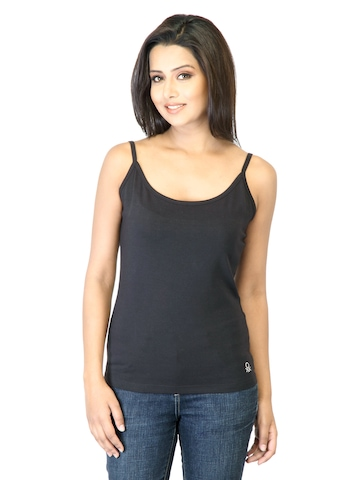 United Colors of Benetton Women Black Top