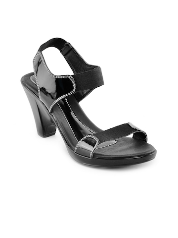 Catwalk Women Black Casual Sandals