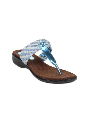 Portia Women Blue Flats