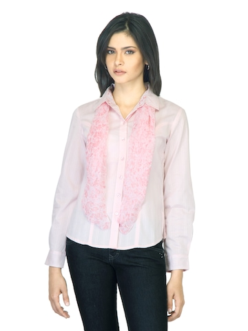 Scullers For Her Striped Pink Shirt
