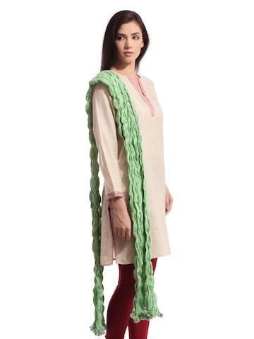 Fabindia Green Dupatta
