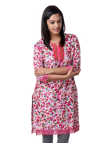 ALayna Women Multi Coloured Kurta